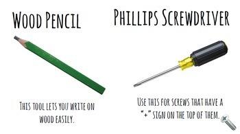 Life Skills Reading and Writing: Using Hand Tools at Home BUNDLE