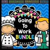 Life Skills Reading and Writing: Work Place BUNDLE
