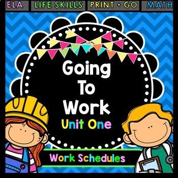 Life Skills - Reading - Writing - Work Schedules - Job Training - Vocational