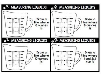 Life Skills - Real World Math - Liquid Measuring Cups - Recipes - Cooking