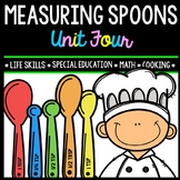 Life Skills - Real World Math - Measuring Spoons - Recipes - Cooking - Unit Four