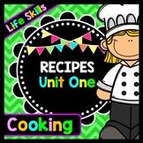 Life Skills - Recipe Comprehension - Cooking - Special Edu