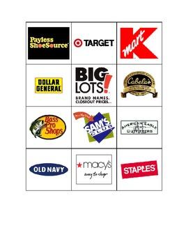 Special Education: Restaurants vs. Stores - Sort