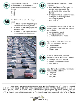 Driving Safety: Road Rules