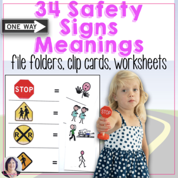 Life Skills Special Education Activity Safety Signs Meanings Speech Therapy