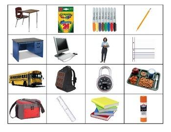 Life Skills: School Bingo