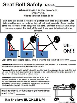 Life Skills - Seat Belt Safety