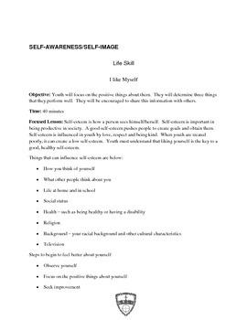Life Skills: Self-Image