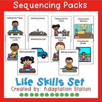 Life Skills Sequencing Set (VAAP Aligned)