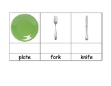 Life Skills: Seting the Table Vocabulary