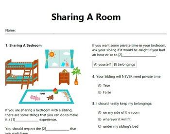 Life Skills: Sharing A Room