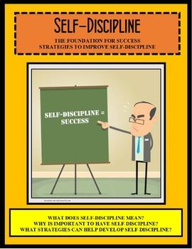 Self Discipline Worksheet | Teachers Pay Teachers