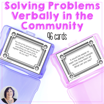 Life Skills Solving Problems Verbally in the Community