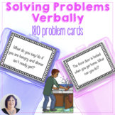 Solving Problems and Answering Questions Verbally Social S