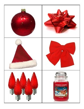 Special Education: Christmas Colors Sort