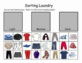 Life Skills - Sorting Laundry