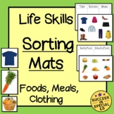 Life Skills Sorting Worksheet Packets with Images