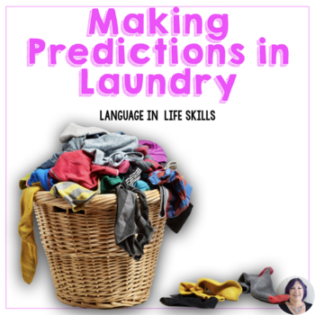 Life Skills Special Education Activity and Task Cards Sorting the Laundry Speech