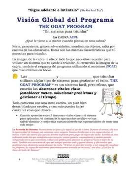Life Skills Spanish Workbook (Goal Setting, Problem Solving & Time Management)