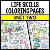 Life Skills - Special Education - Cooking - Travel - Coloring Pages