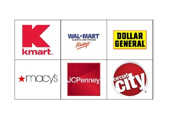 Life Skills: Store Logo Match