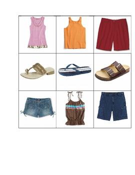 Life Skills: Summer Clothes vs. Winter Clothes