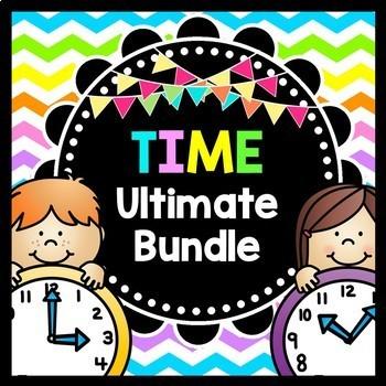 Life Skills TIME: Telling Time Ultimate Bundle