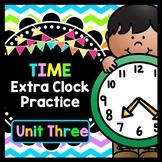 Life Skills TIME: Telling Time, Unit 3