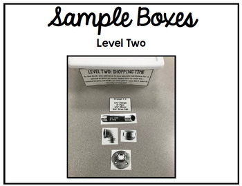 Life Skills - Task Box - Hardware Store - Tools - Vocational Training