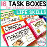 Life Skills Task Boxes {for students with special needs}
