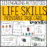 Life Skills Task Card GROWING BUNDLE