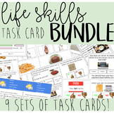 Life Skills Task Card BUNDLE! - functional skills, life skills