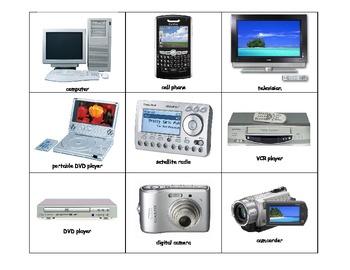Life Skills: Technology Bingo