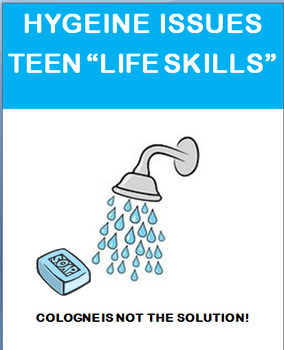 """""""Teen Hygiene"""" lesson and 2 activities"""