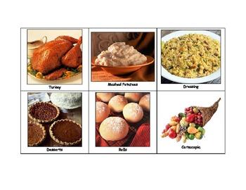 Life Skills: Thanksgiving Bingo