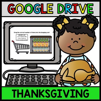 Life Skills Thanksgiving Grocery Shopping - GOOGLE DRIVE - Special Education