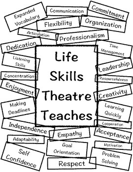 Life Skills Theatre Teaches