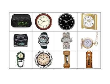 Life Skills: Things That Tell Time