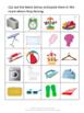 Life Skills Classification Fine Motor Skills Special Education Autism P-K, K