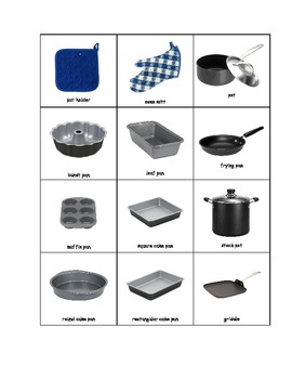 Special Education: Tools That Help Make Meals (Matching Book)