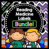 Life Skills - Reading - Writing - Medicine Labels - Special Education - BUNDLE