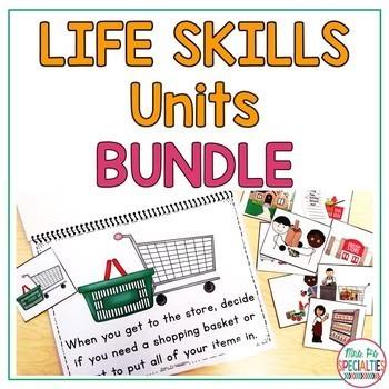 Life Skills Unit BUNDLE (Special Education & Autism ResourceS)