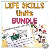 Life Skills Unit BUNDLE (Special Education & Autism Resource)