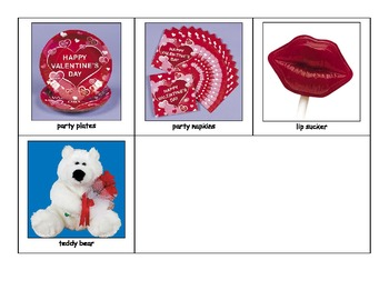Special Education: Valentine's Day Concentration Game