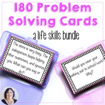 Life and Language Skills Verbal Problem Solving Bundle
