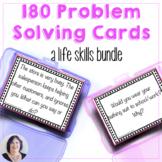 Life Skills Verbal Problem Solving Bundle 180 Cards