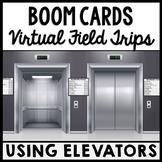 Life Skills - Virtual Field Trip - Using an Elevator - BOOM CARDS - CBI - Jobs