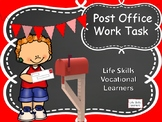 Life Skills Vocational Post Office Work Task