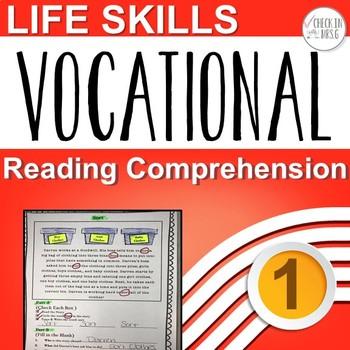 Life Skills Vocational Reading Comprehension I