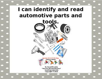 Life Skills/Vocational Skills: I Can Identify and Read Aut